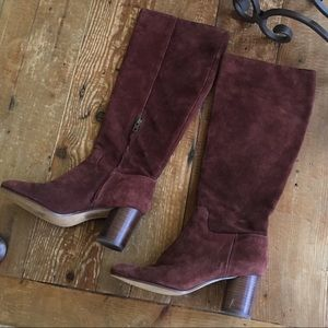 Madewell Suede Boots Made In Brazil